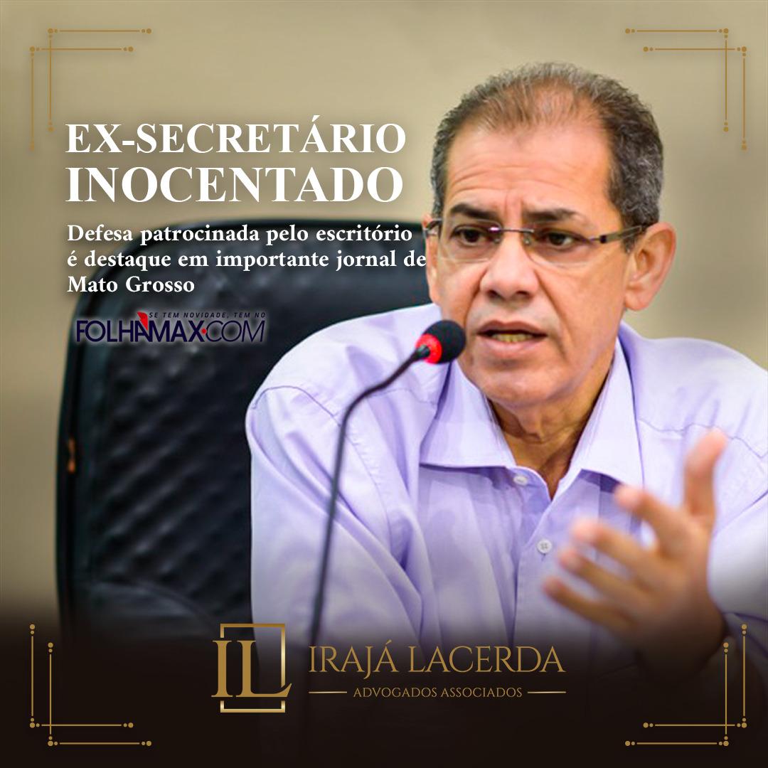 Defesa patrocinada pelo escritório é destaque em importante jornal de Mato Grosso